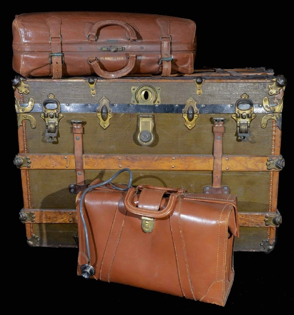 Vintage Trunk And Luggage