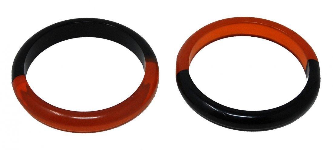 2- Laminated Apple Juice Bracelets - 2