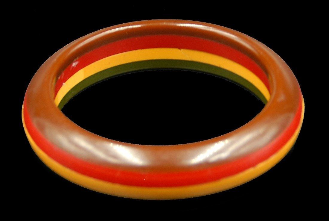 4 Color Laminate Bracelet - 4