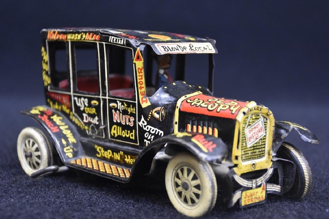 Louis Marx Old Jalopy Toy Tin Windup Car