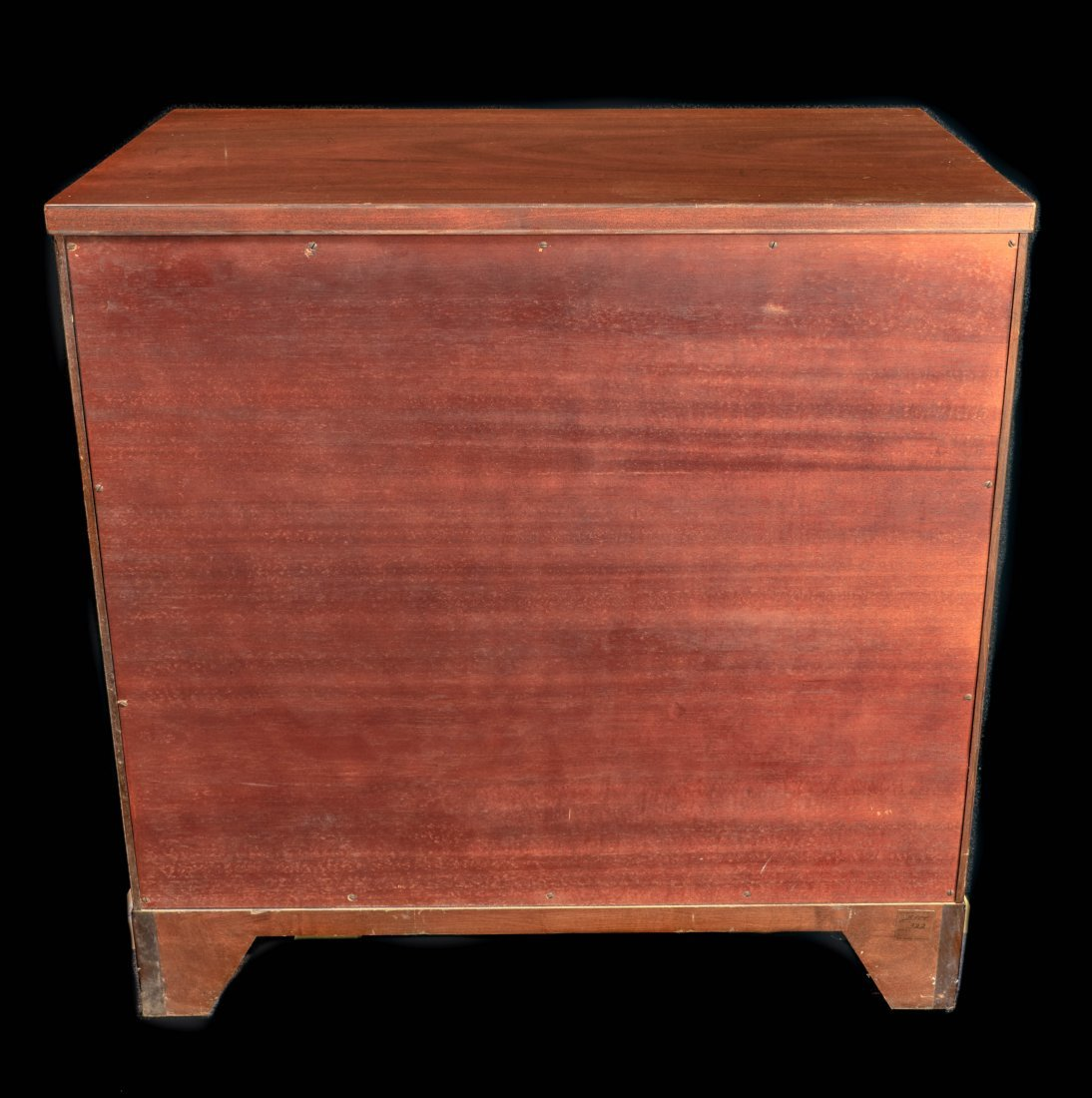 Pr. Kittinger Banded Inlay Three Drawer Chests - 6