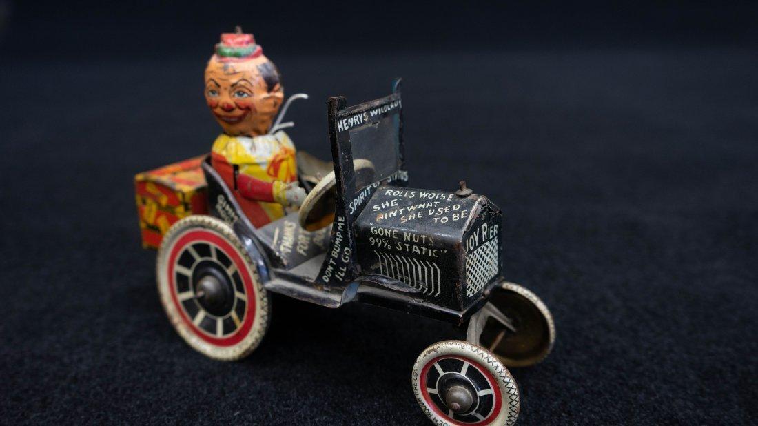Vintage Marx Rough Rider Tin Wind Up Toy Car - 7