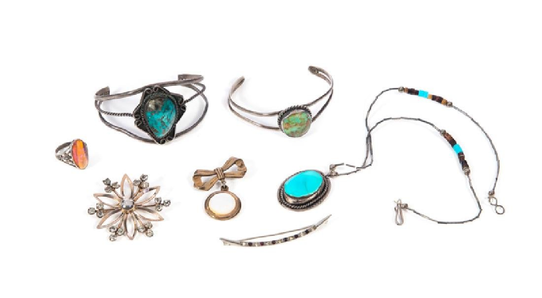 7 Pcs Sterling Silver Jewelry
