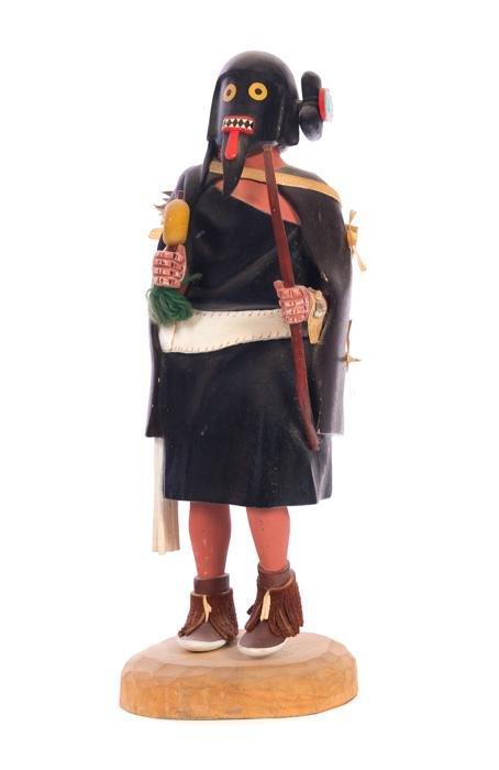Warrior Maid  By Myron Gaseovia He'e'e Kachina