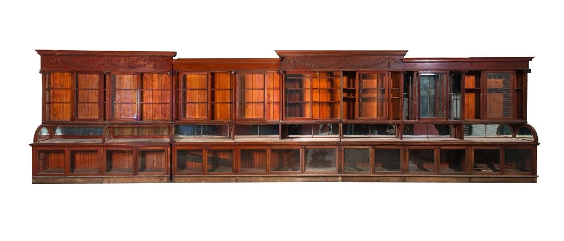 General Store Back Bar Display Cabinet