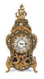 Vincenti & Cie Louis XV Mantel Clock Ca. 1850