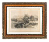 AF Bellows 1884 The Nearest Way In Winter Time Print