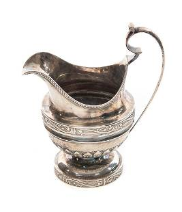 1790-1797 Silas Howell Coin Silver Pitcher
