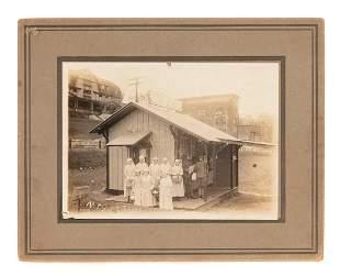 WWI Era Photograph Nurses Canteen Bluefield WVA.