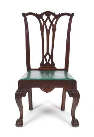 American Centennial Mahogany Chippendale Chair