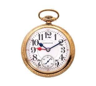 Hamilton 992 M2 21j Railroad Pocket Watch
