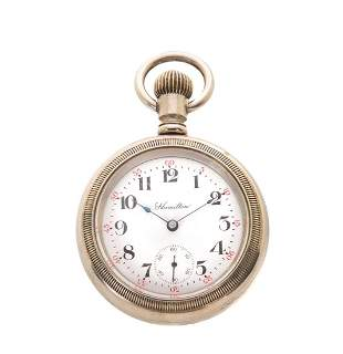 Hamilton 940 21j Railroad Pocket Watch