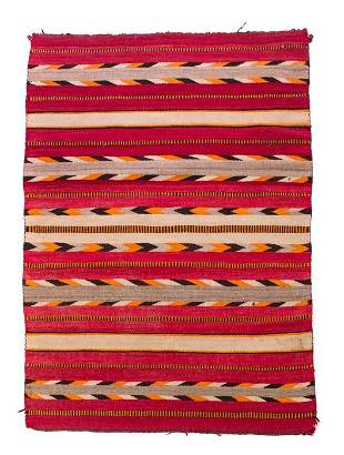 Early Navajo Transitional Chiefs Blanket