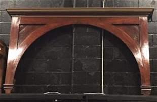 IOOF Walnut Victorian Ceremonial Arch
