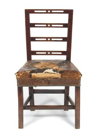 1700's Period Mahogany Chippendale Chair
