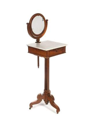 Victorian Marble Top Shaving Stand