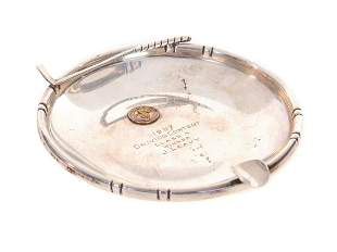 1957 Golf Trophy Ashtray Sterling Silver