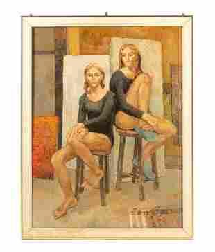 Kay Wilson Ballerina Oil Painting