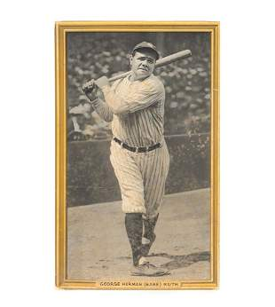 Babe Ruth Photograph