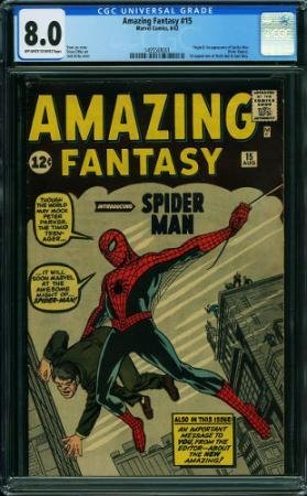 AMAZING FANTASY #15 Introducing Spider-Man