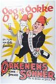 Laurel & Hardy Gog Og Gokke, Color Ordenens Sonner