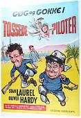 Laurel & Hardy Gog Og Gokke, Tossede Piloter, Color
