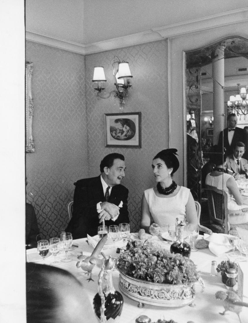 Salvador Dalí. Original photograph. 1960.