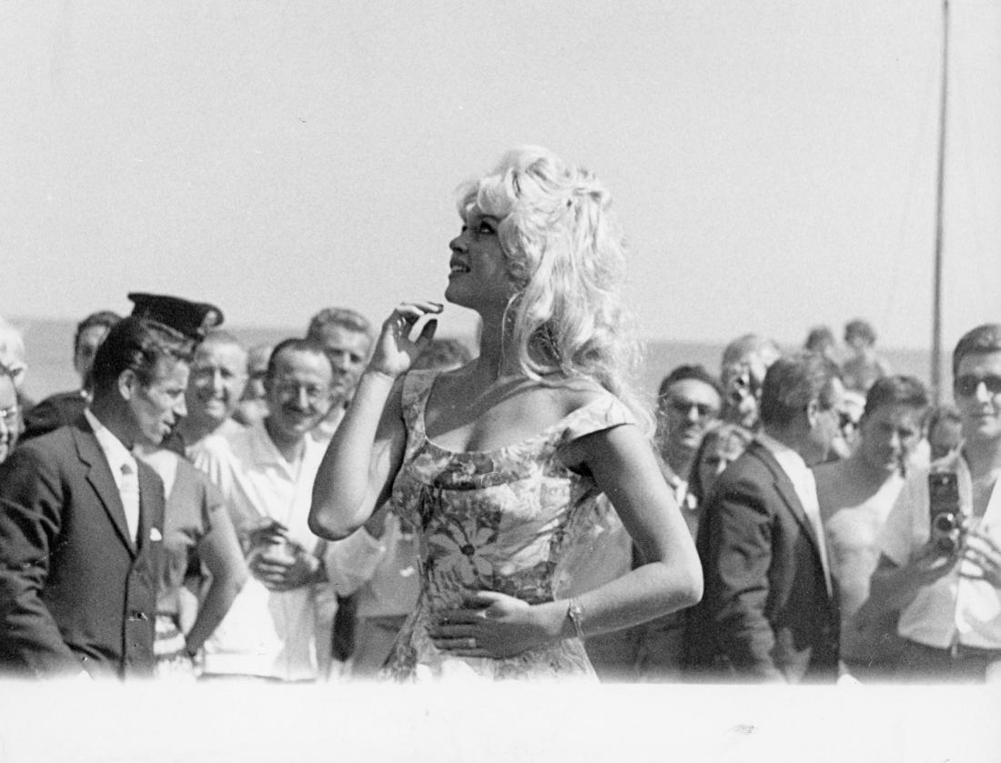 Brigitte Bardot. Original photograph.