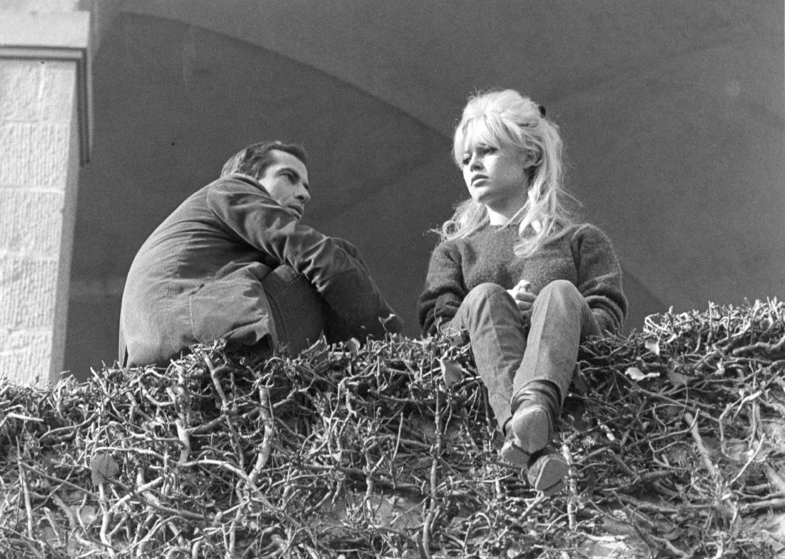 Brigitte Bardot. Lot of seven original photographs. 1962.