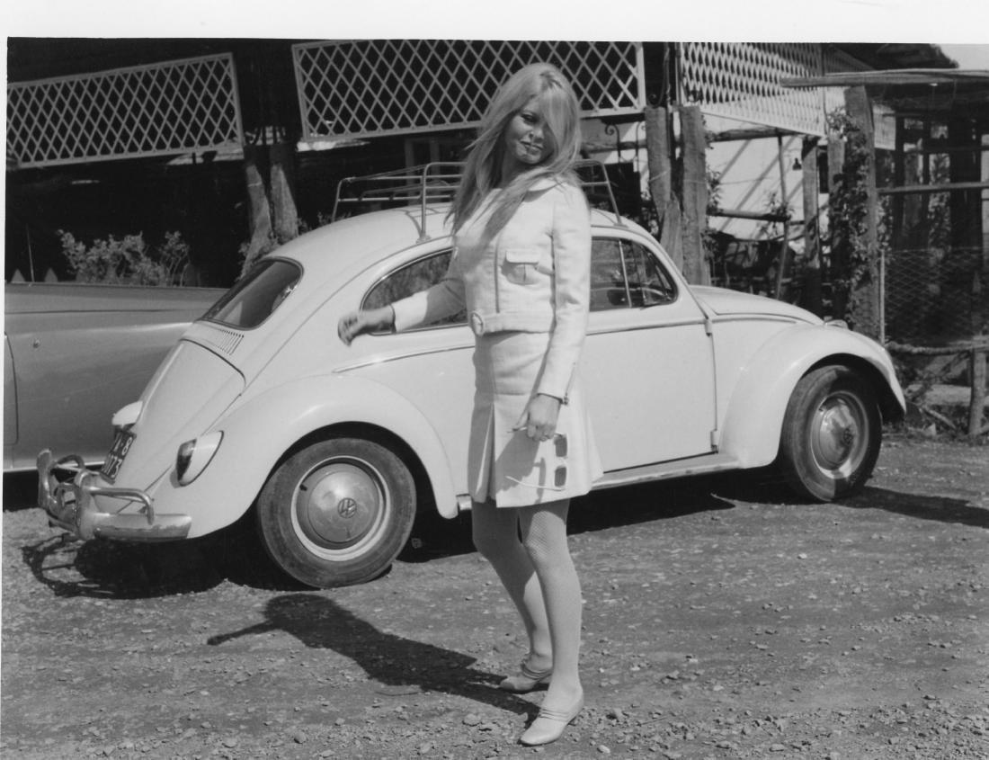 Brigitte Bardot. Original photograph. 1967.