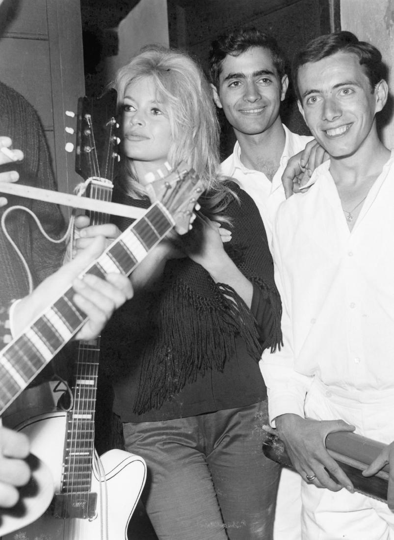 Brigitte Bardot. Original photograph. 1962.