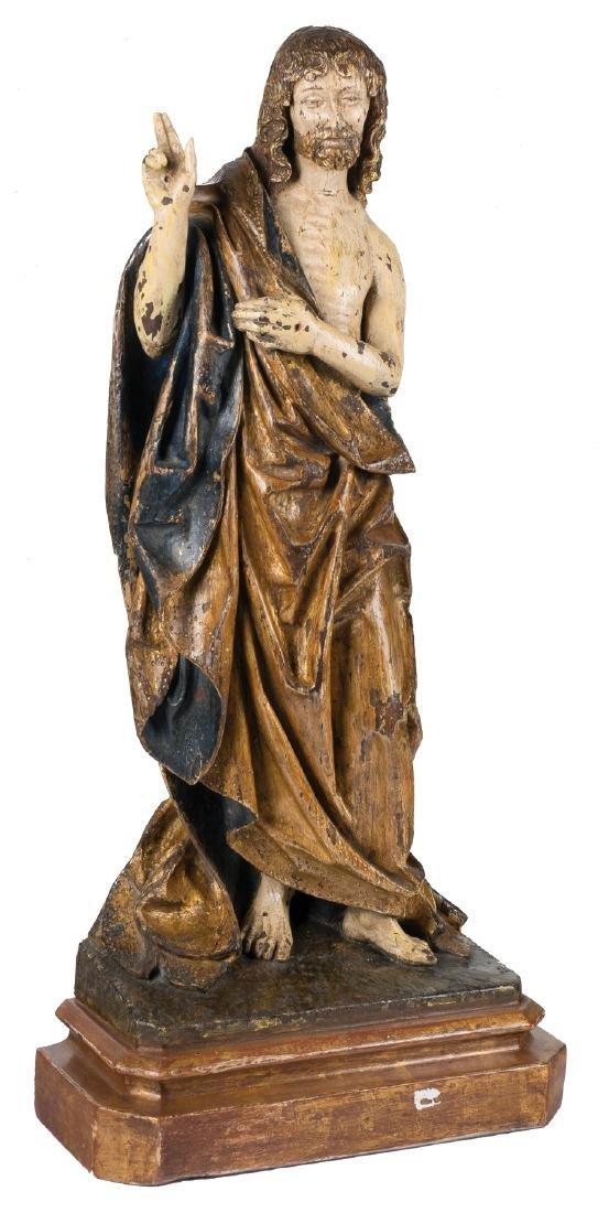 """Resurrected Christ"" Carved, gilded and polychromed"