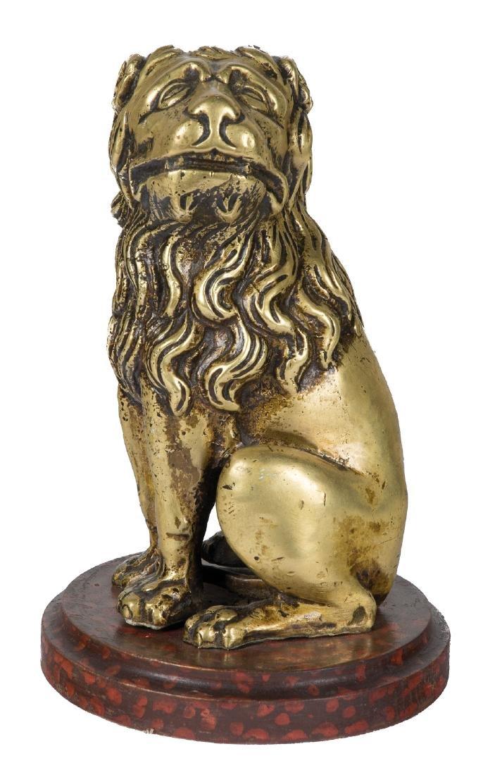 """Lion"" Bronze sculpture."