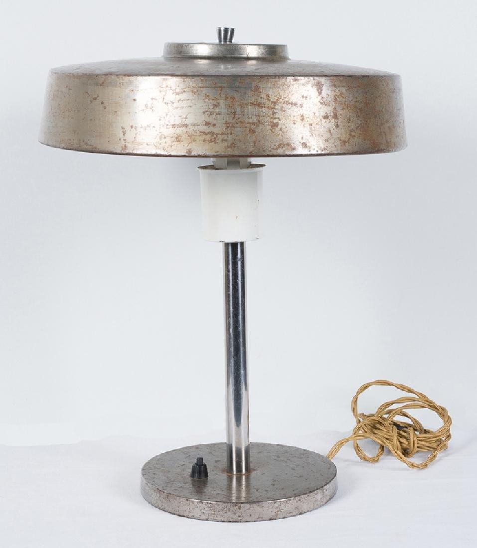 Metal table lamp. Art Deco. Circa 1930