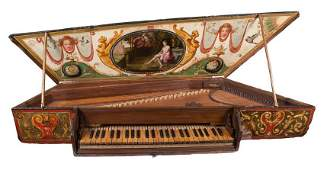 Virginal of the late 16th century In an important