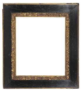 Painted and gilded wooden Spanish frame 17th century