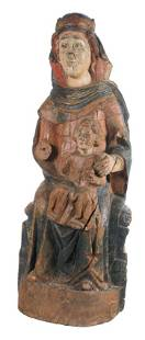 Seat of Wisdom Sedes Sapientiae Carved and
