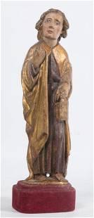 San Juan Evangelista Escultura en madera tallada