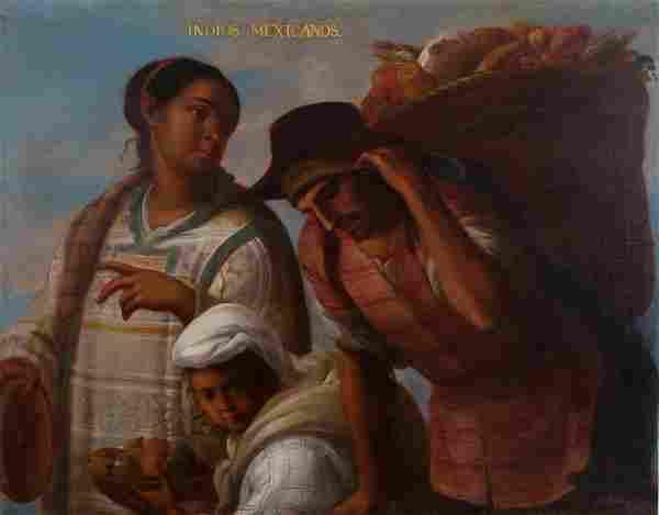 Colonial School. Mexico. 18th century.