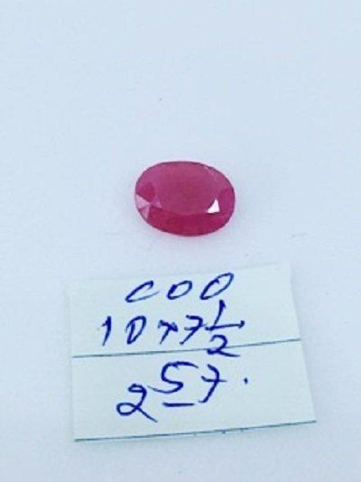 2.57ct Untreated Natural  Burma Ruby