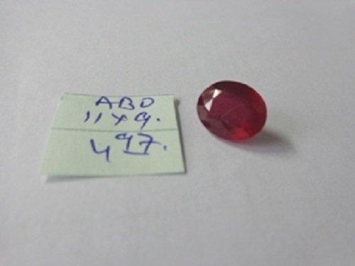 4.97ct Untreated Natural  Burma Ruby