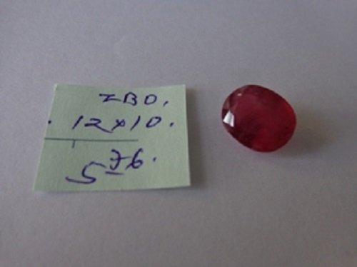 5.76ct Natural  Burma Ruby