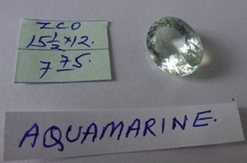 7.75ct Natural  Aquamarine