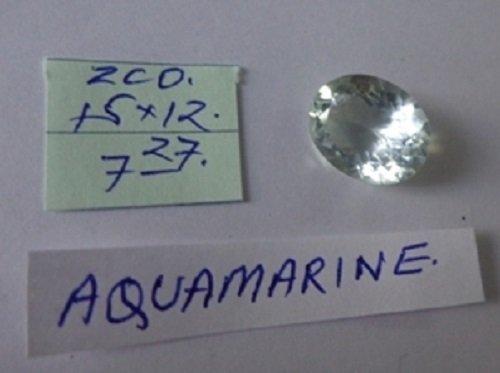 7.27ct Natural  Aquamarine