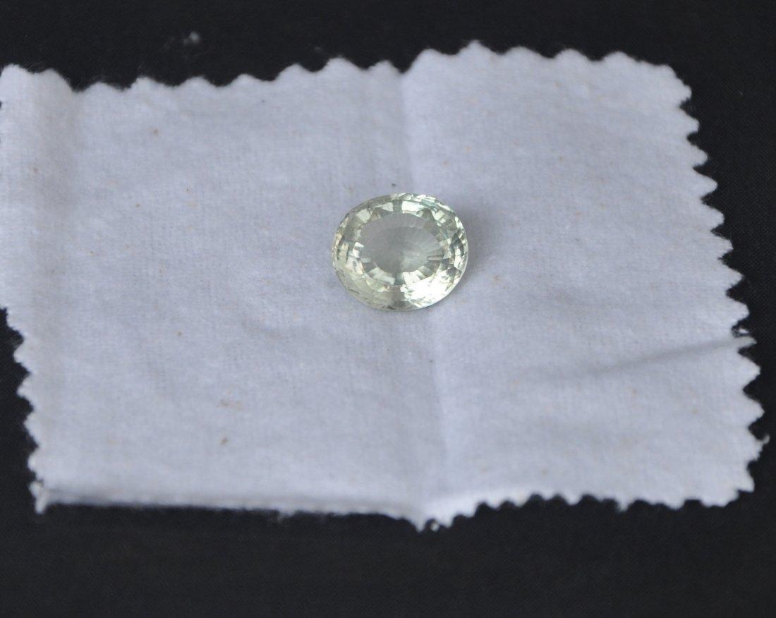 7.19ct Light Green Natural quartz