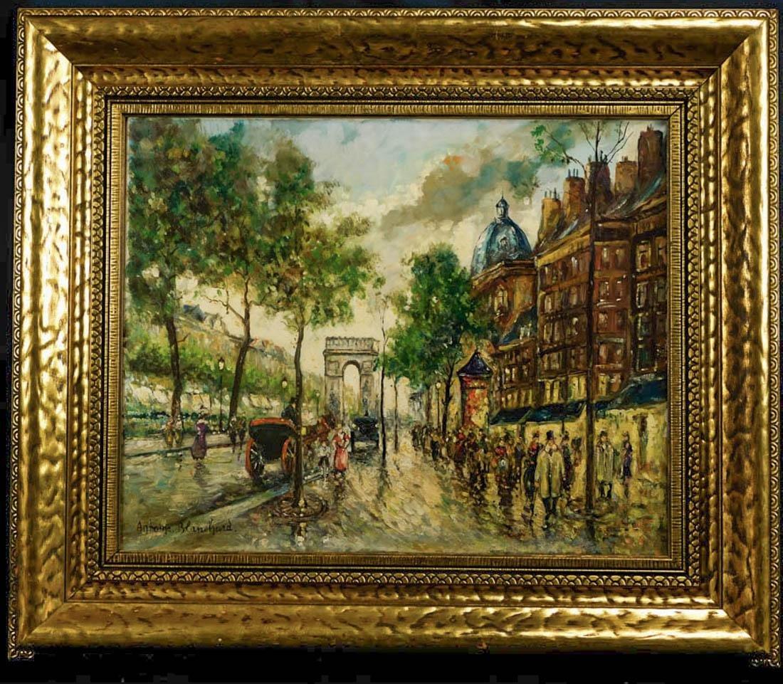 Antoine Blanchard (France 1910 - 1988) Oil