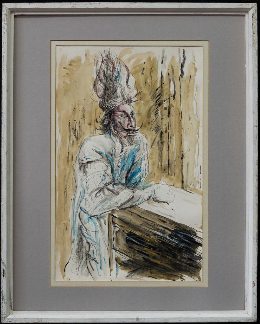 Salvador Dali (France/Spain 1904-1989)Watercolor