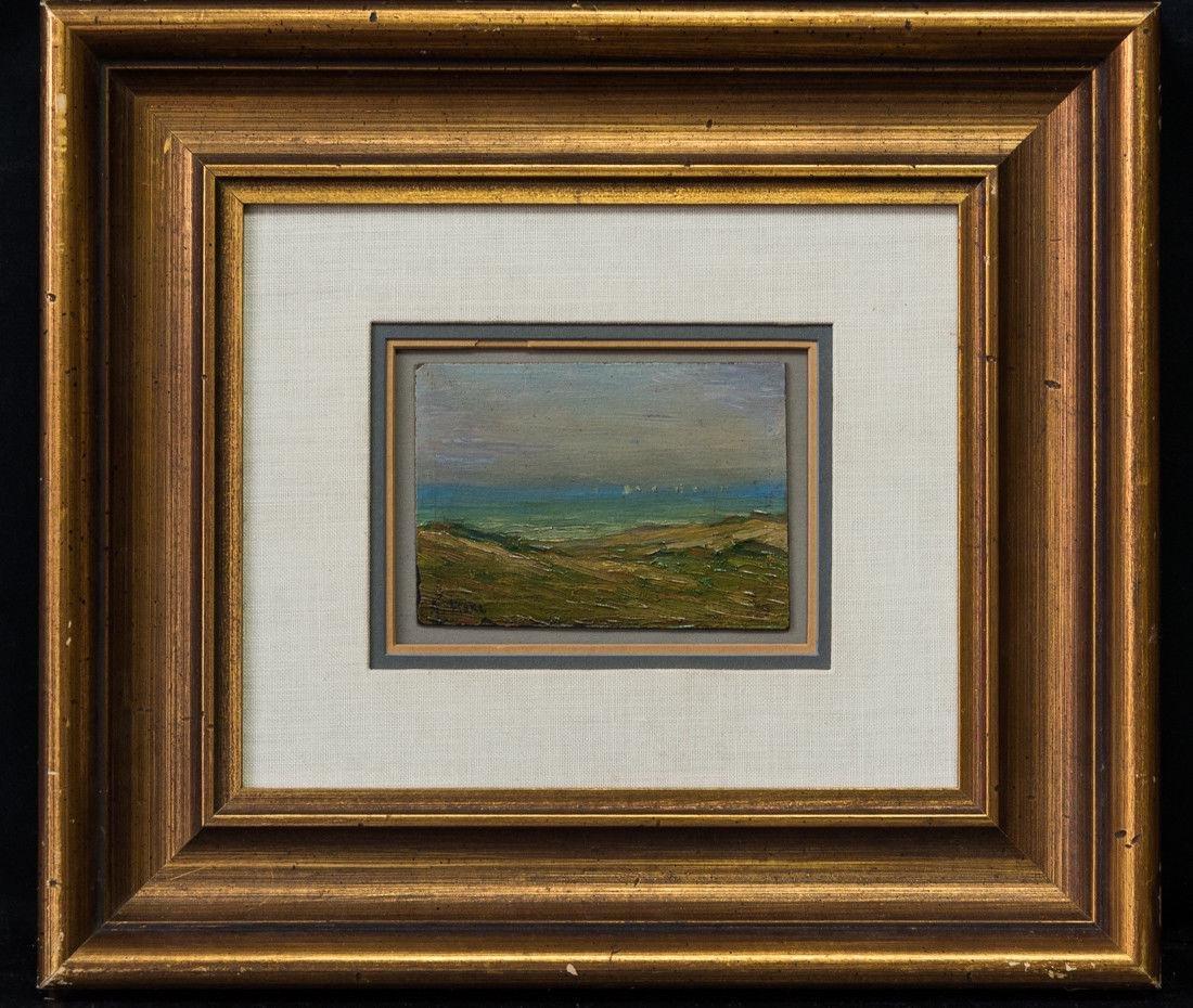 Gertrude H. Fiske (MA 1878 - 1961) Small Oil