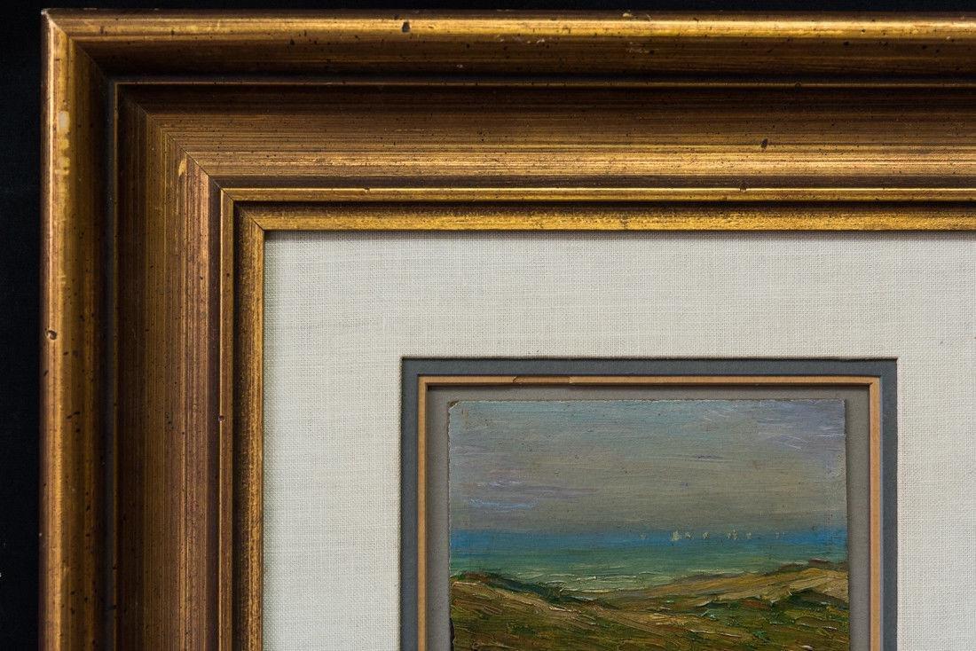 Gertrude H. Fiske (MA 1878 - 1961) Small Oil - 3
