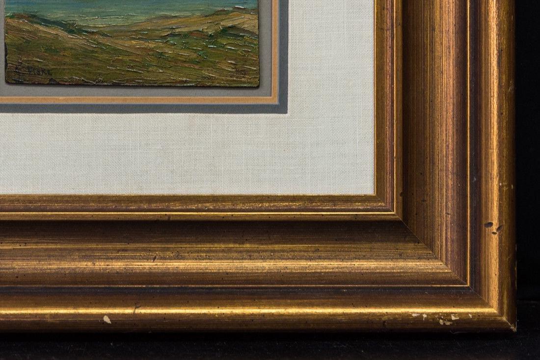 Gertrude H. Fiske (MA 1878 - 1961) Small Oil - 4